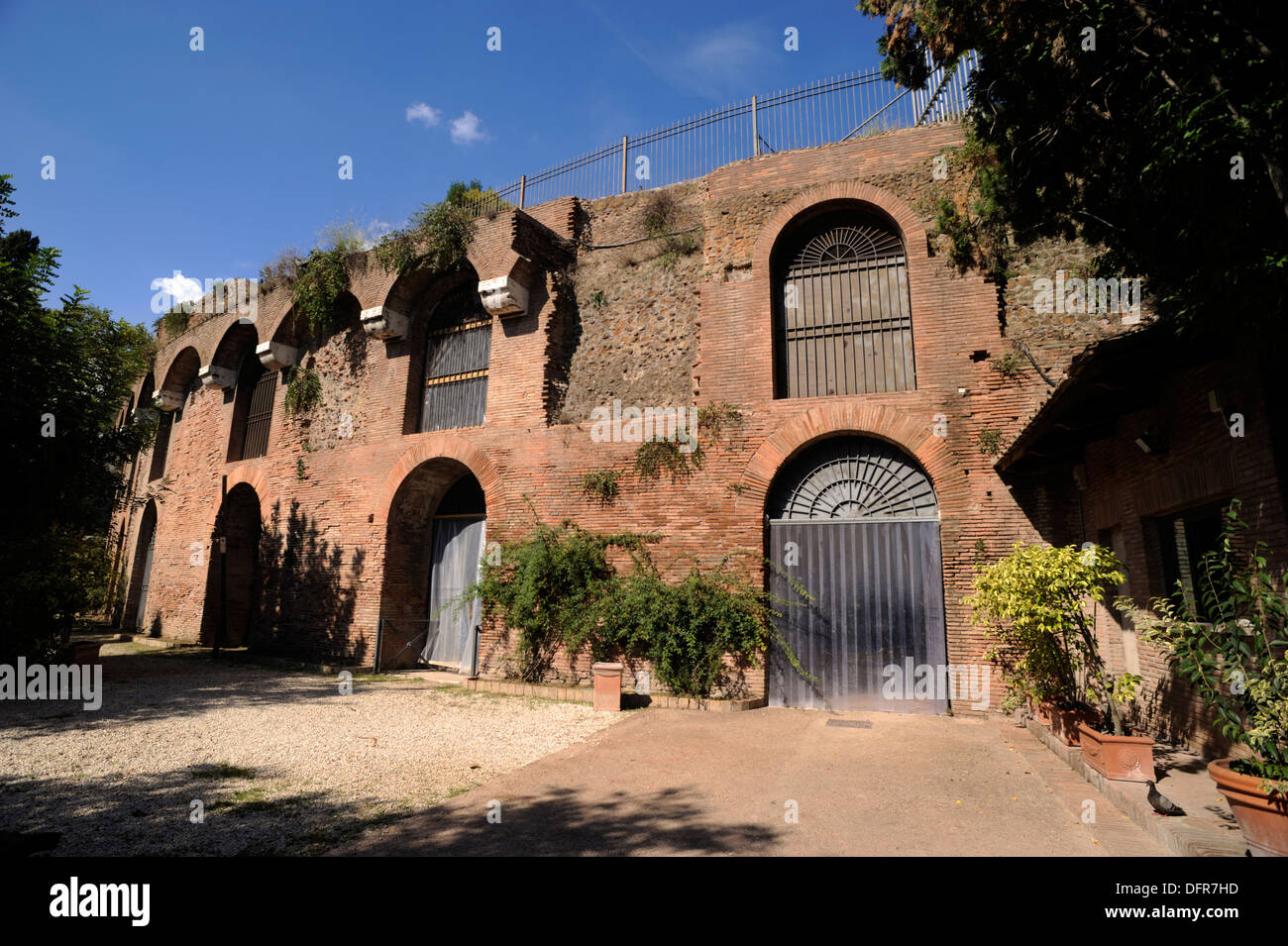 italy, rome, colle oppio (oppian hill), domus aurea, house of emperor nero - Stock Image