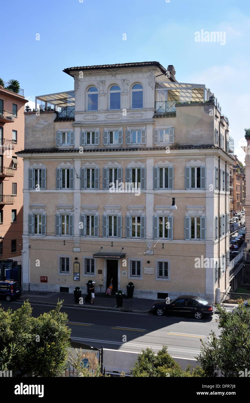 Italy Rome Palazzo Manfredi Hotel Stock Photo 61361840