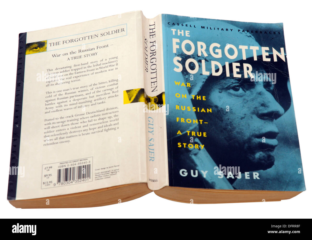 The Forgotten Soldier by Guy Sajer - Stock Image