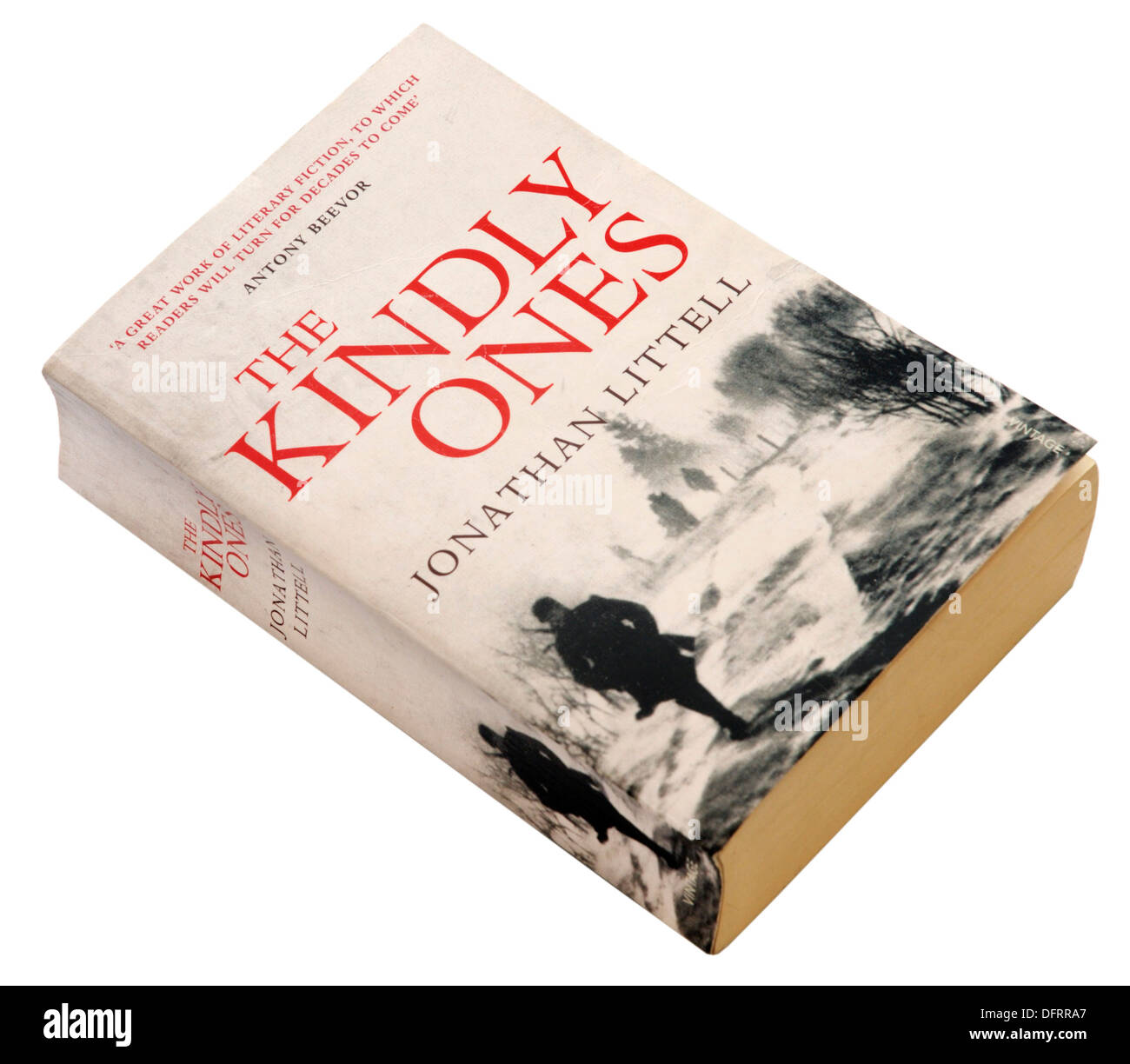 The Kindly Ones by Jonathan Littel - Stock Image