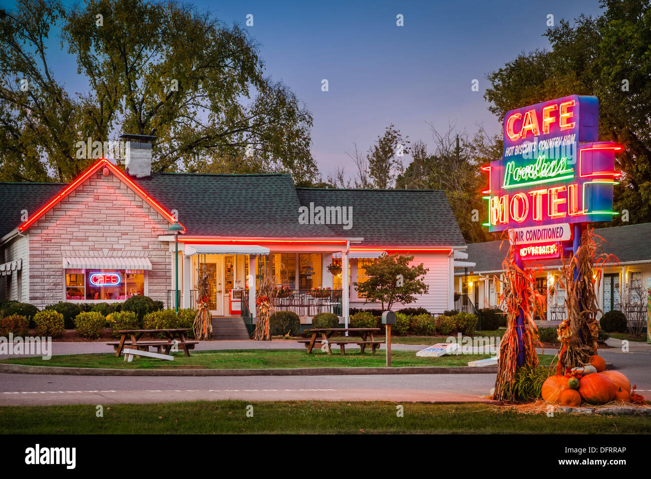 The famous Loveless Cafe and Motel near Nashville ...