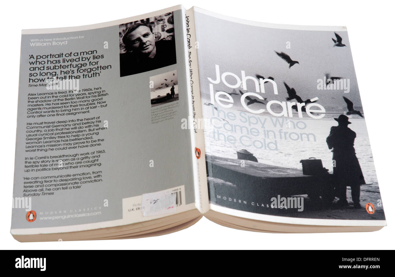The Spy Who Came in From the Cold by John le Carre - Stock Image