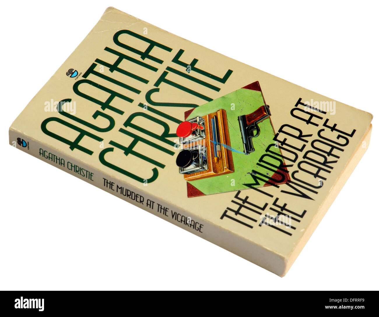 The Murder at the Vicarage by Agatha Christie - Stock Image