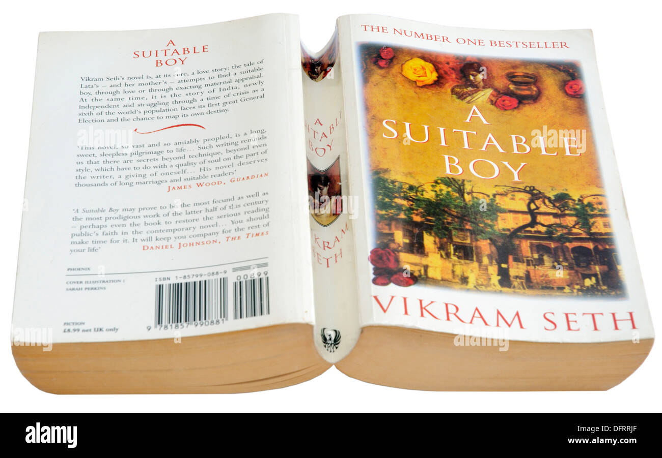 A Suitable Boy by Vikram Seth - Stock Image