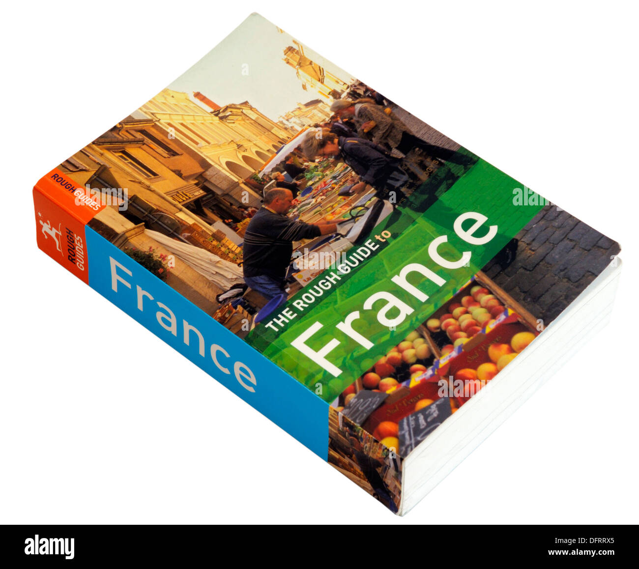 The Rough Guide to France - Stock Image
