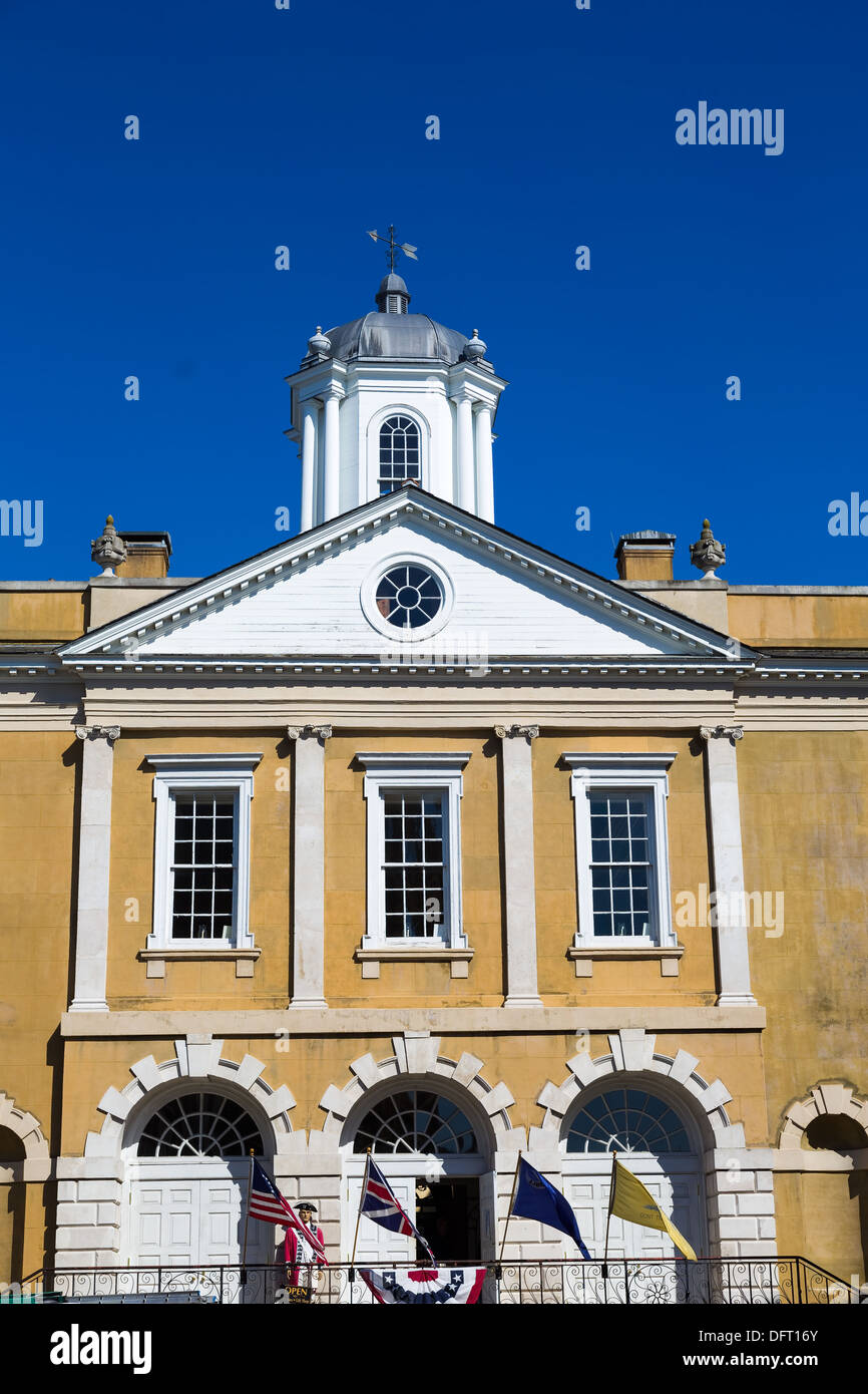 The Old Exchange and Provost Dungeon, Charleston, South Carolina Stock Photo