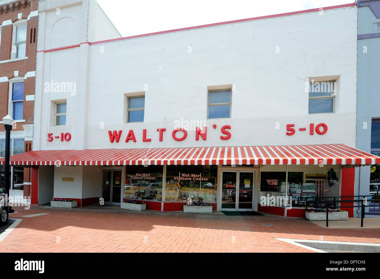 Walmart Visitors Center Walton 5 And 10 Bentonville Arkansas