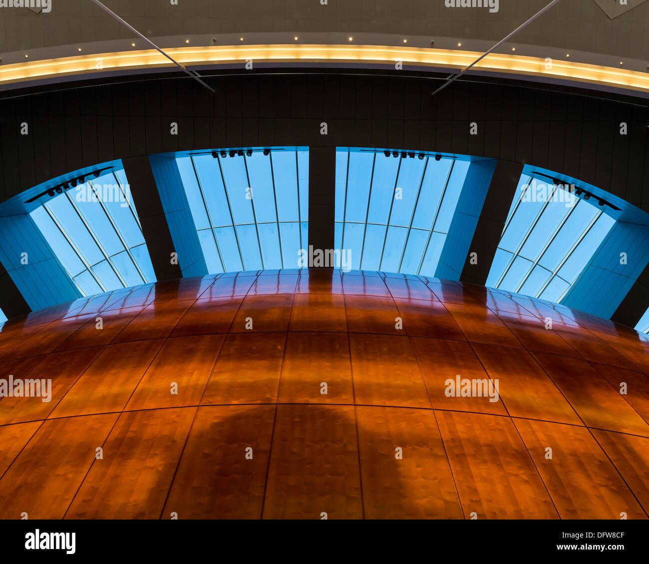Copenhagen Opera House (Operaen), Copenhagen, Denmark. Architect: Henning Larsen, 2004. Stock Photo
