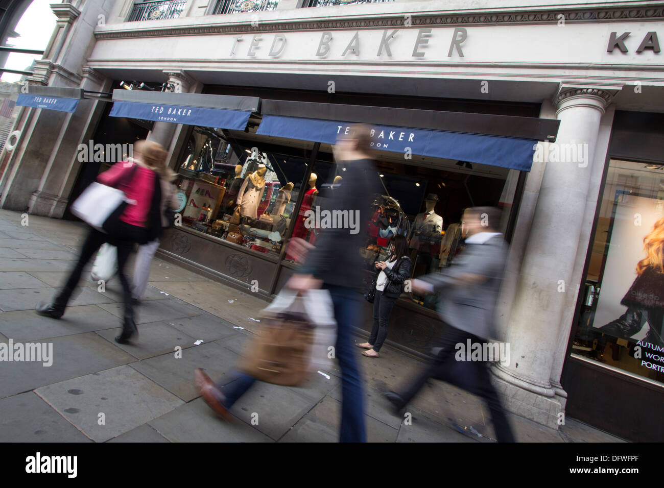 Ted Baker fashion outlet London - Stock Image