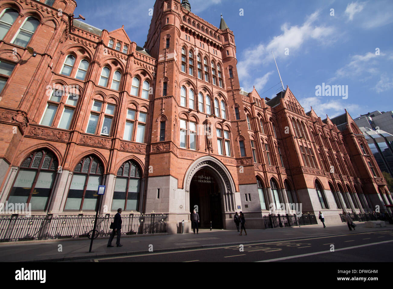 Holborn bars headquarters of Prudential insurance central London - Stock Image