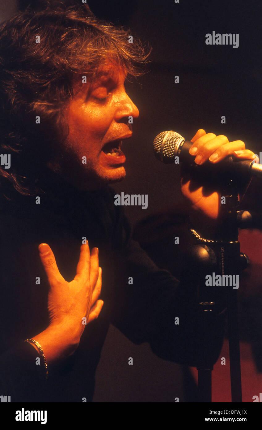 `José Merce´(José Soto Soto). Flamenco singer. Festival de Ciutat Vella. Barcelona. Spain - Stock Image