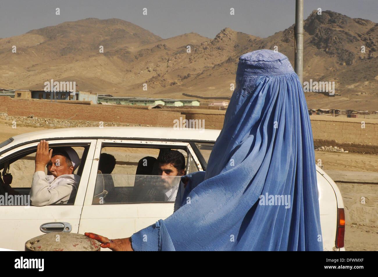 Mes Aynak Afghanistan - Stock Image