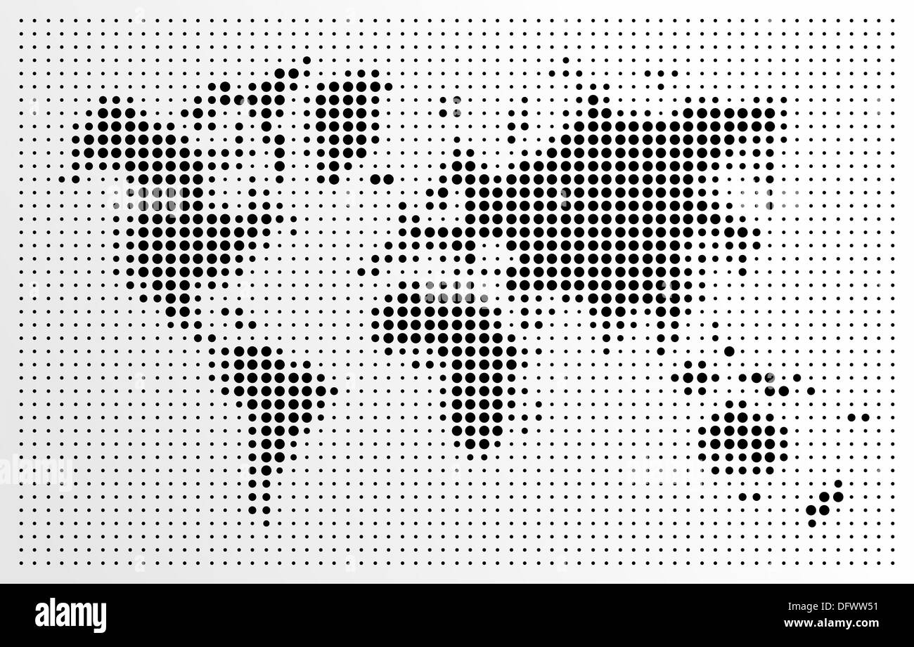 World map black dots atlas composition eps10 vector file organized world map black dots atlas composition eps10 vector file organized in layers for easy editing gumiabroncs Choice Image
