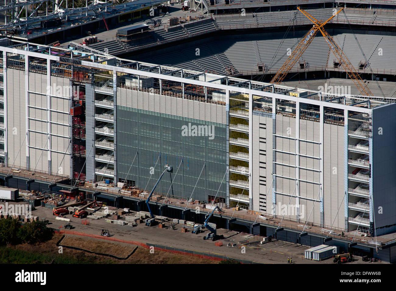 aerial photograph Levi's Stadium Santa Clara, California - Stock Image