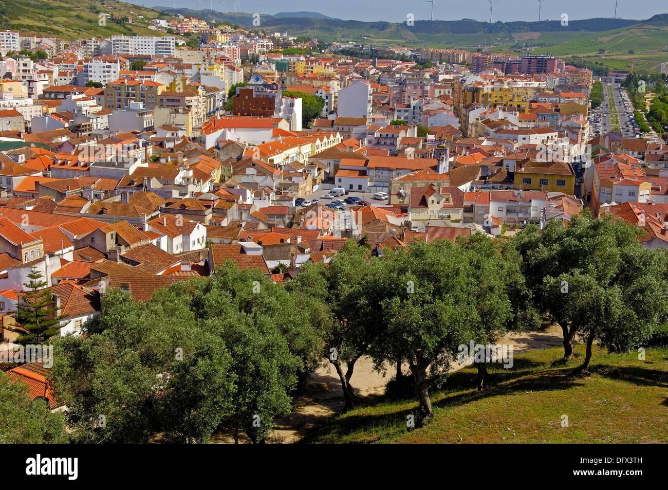 Torres Vedras, Lisbon district, Estremadura, Portugal. - Stock Image