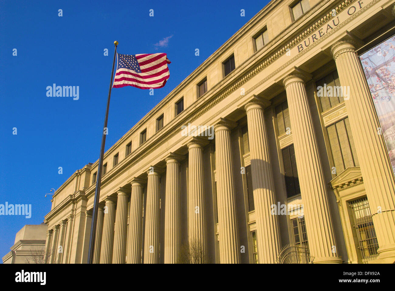 The bureau of engraving and printing washington district of
