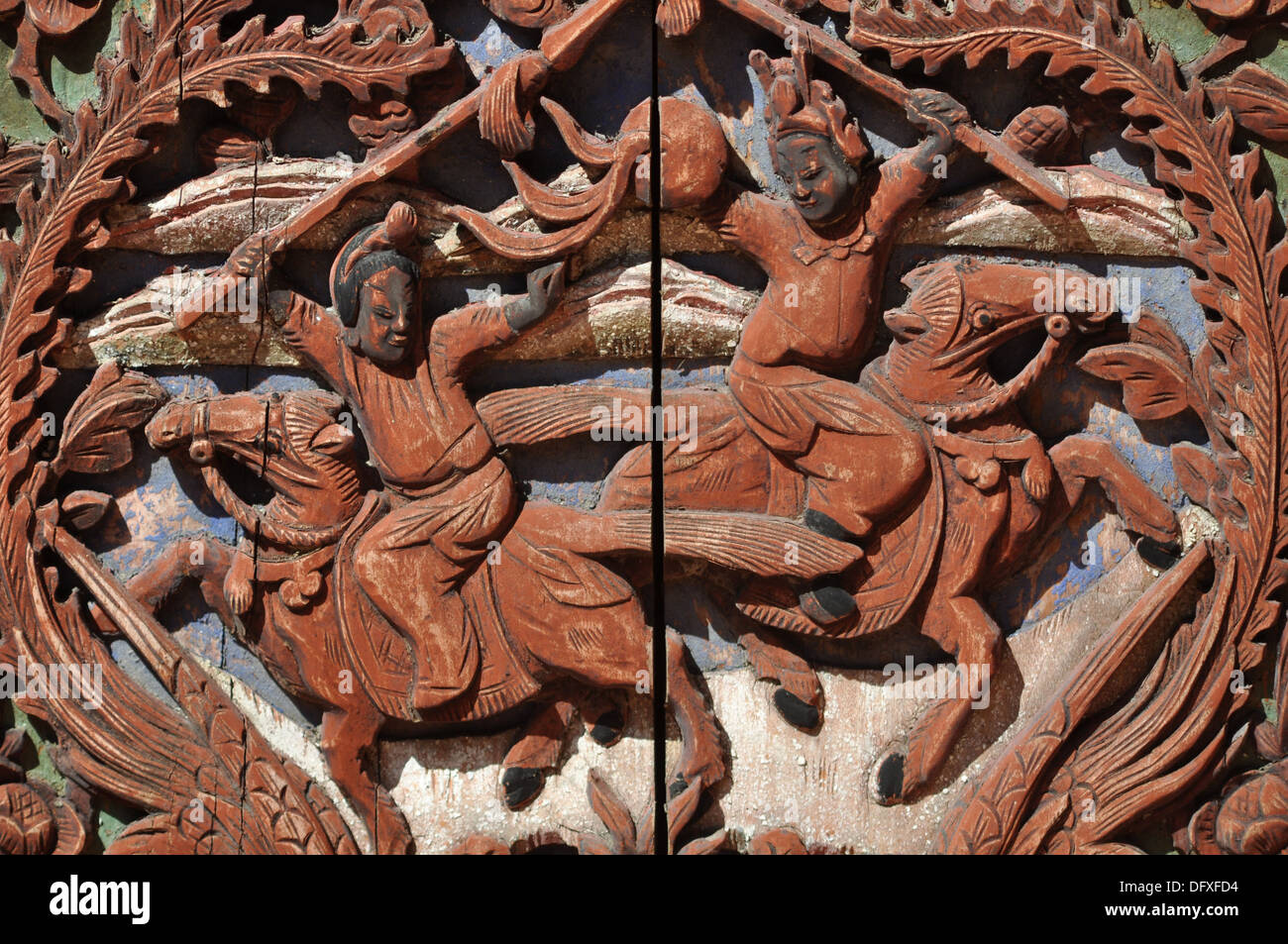 Exceptionnel Malacca (Malaysia): Carved Wooden Furniture In Chinatown   Stock Image