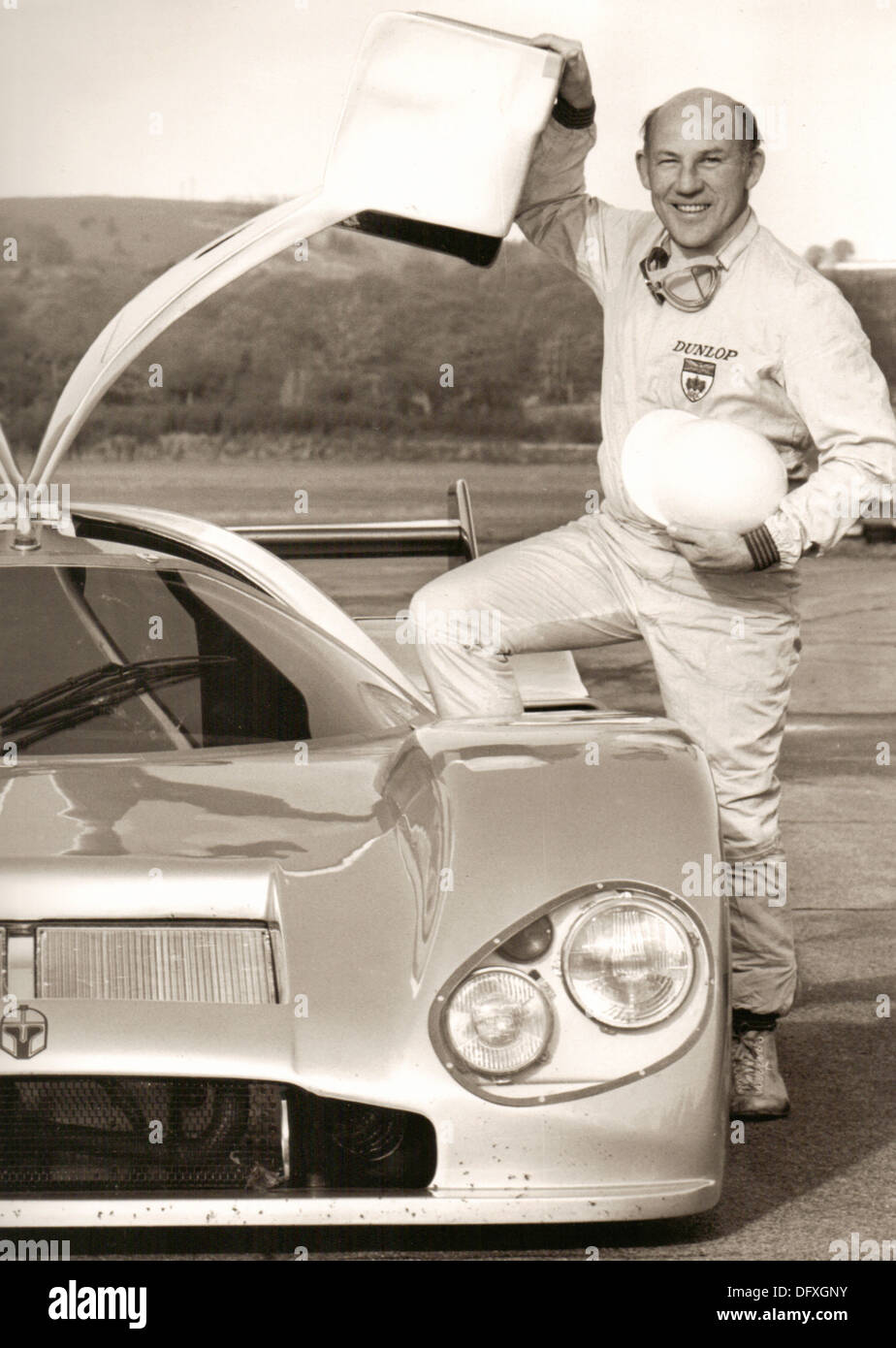 Sir Stirling Moss British racing driver from 1948 to 1962 - Stock Image