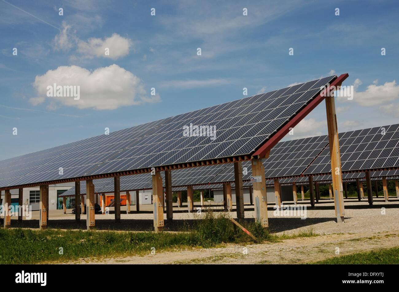 Solar Powerstation Stock Photo: 61443554 - Alamy