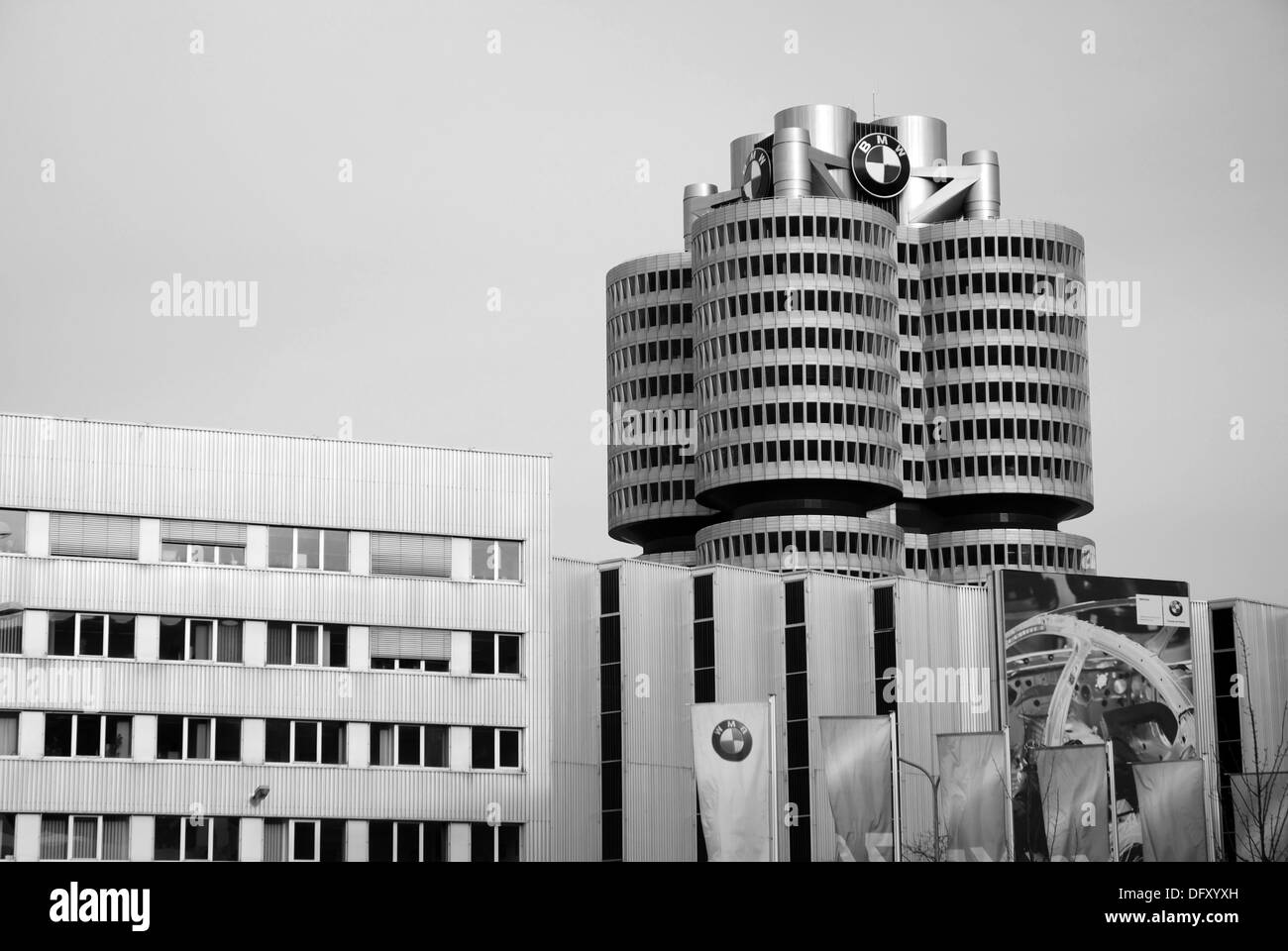 BMW in Munich - Stock Image