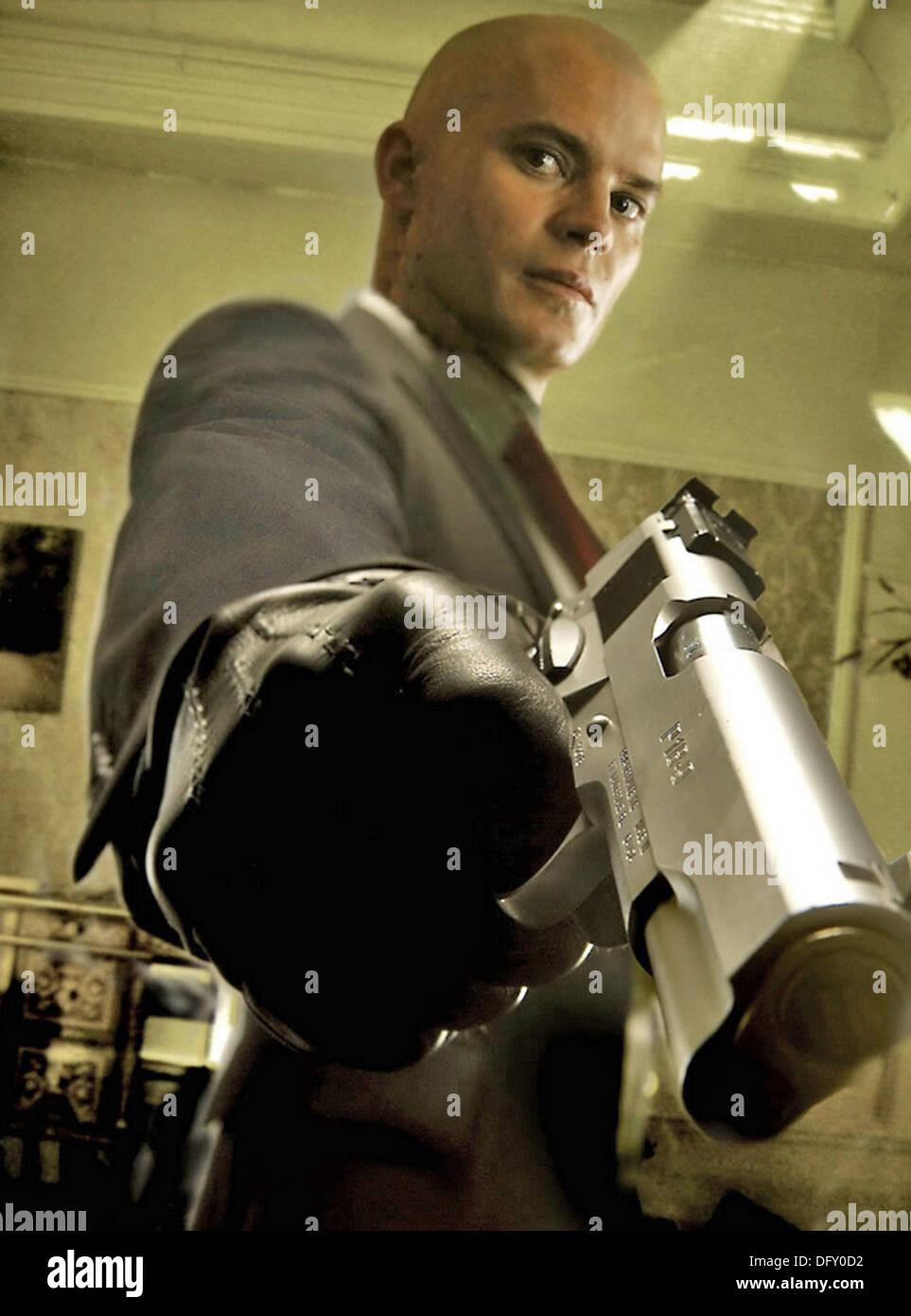 HITMAN   2007 Twentieth Century Fox film with Timothy Olyphant - Stock Image