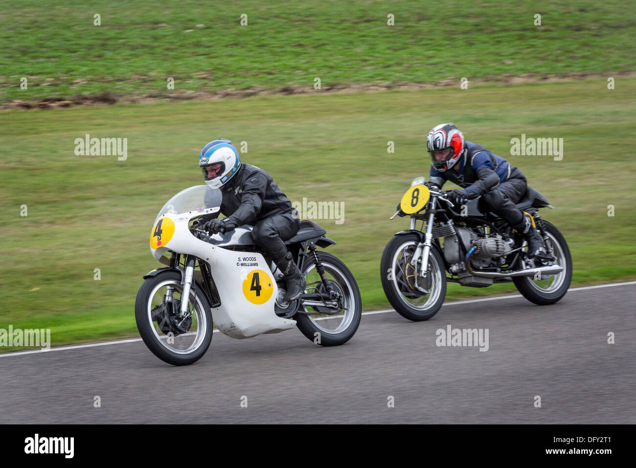 Norton 500 Stock Photos Images Alamy 1966 Atlas Wiring Diagram Stan Woods On A 1962 Manx Leads Kazcor Bmw R50 2013 Goodwood
