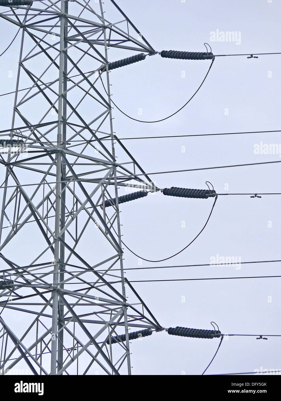 High Voltage Transmission Line Cable : High voltage cable stock photos