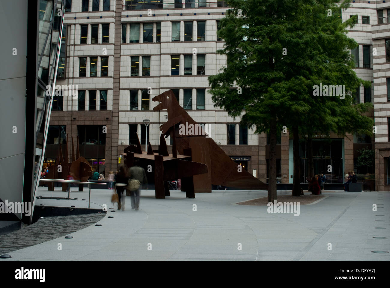 St Marys Axe London EC3 Stock Photo