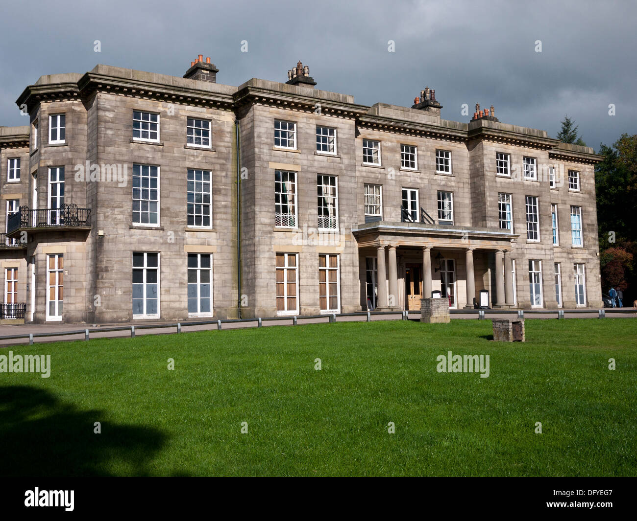 Haigh Hall, Wigan, Greater Manchester, UK. - Stock Image