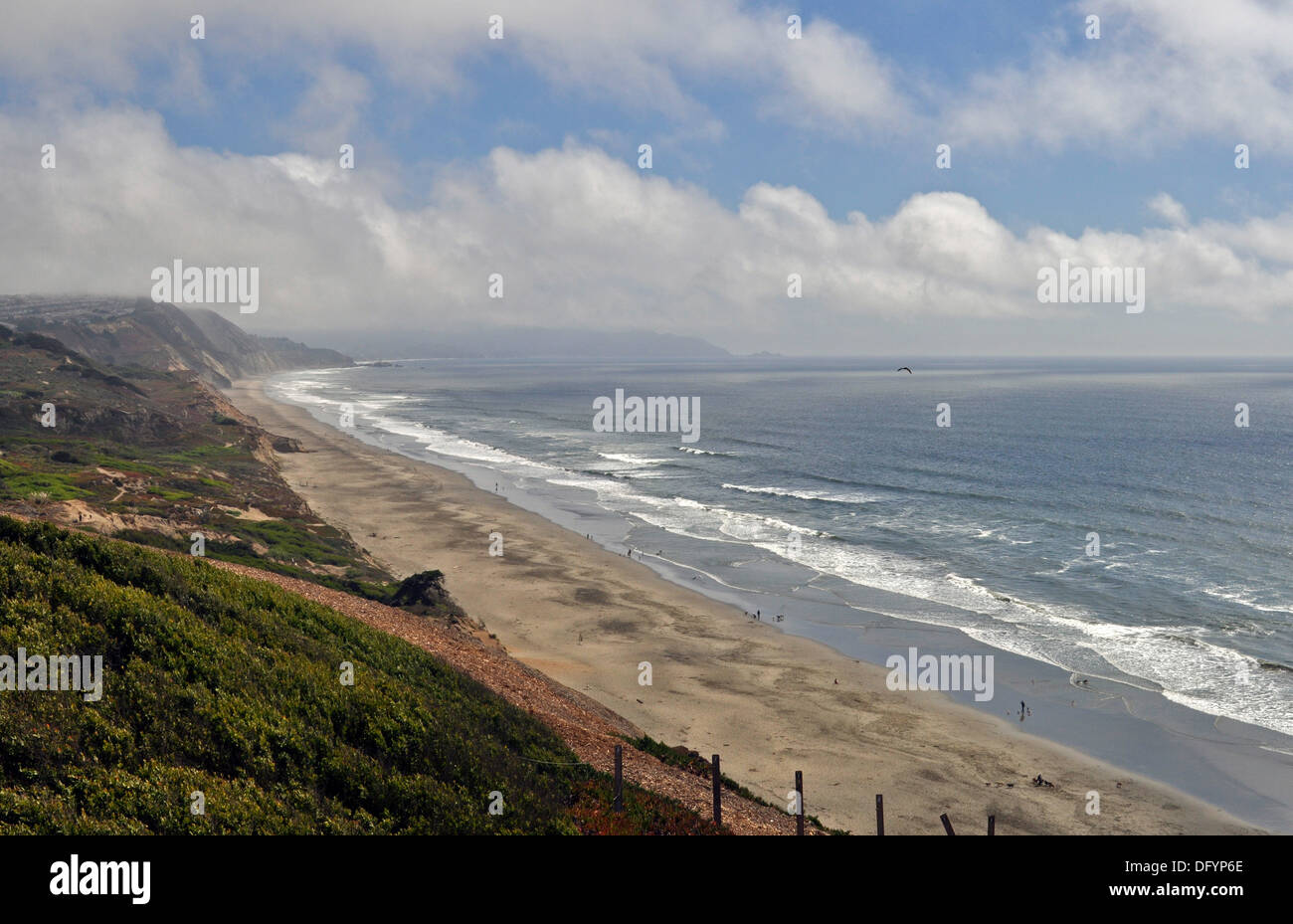 Fort Funston, GGNRA, San Francisco - Stock Image