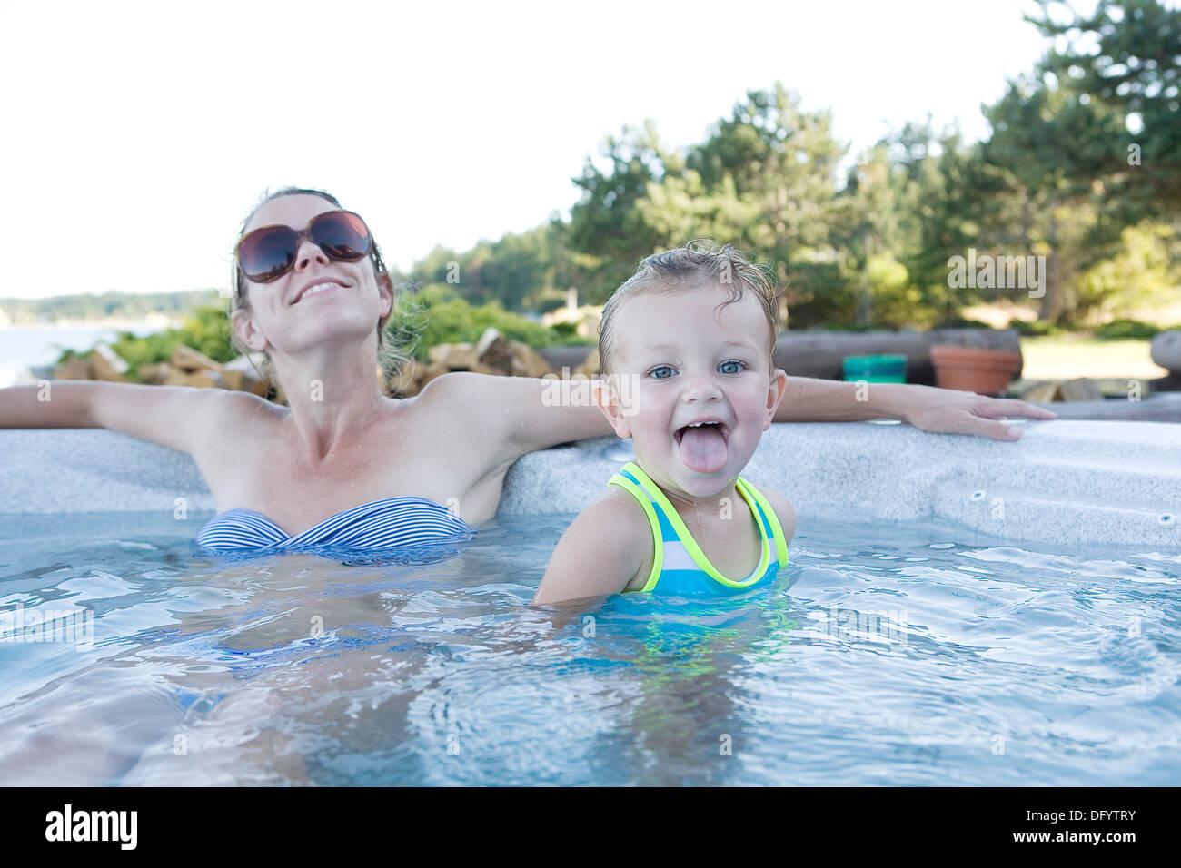 Girl Child Jacuzzi Stock Photos & Girl Child Jacuzzi Stock Images ...