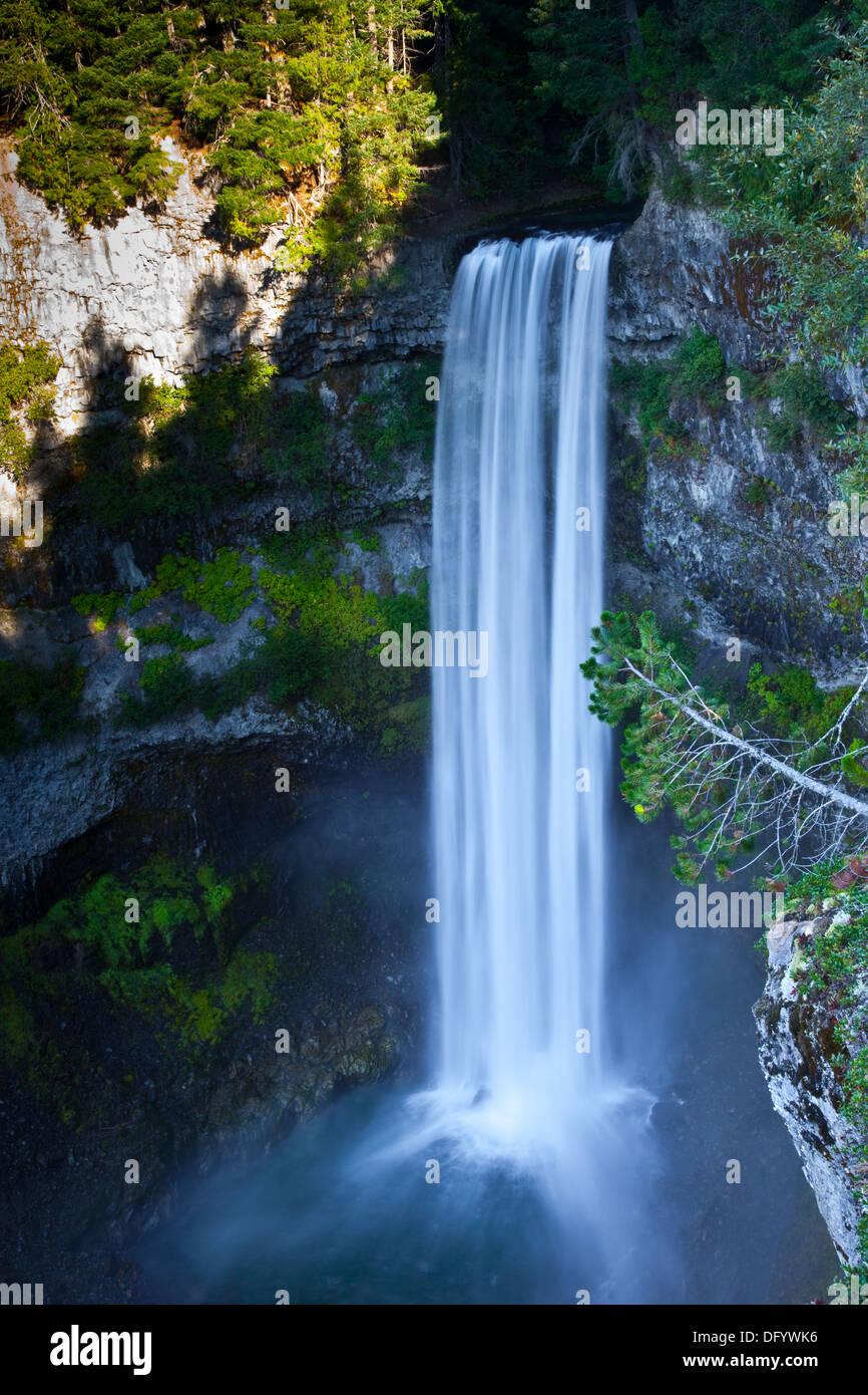 Brandywine Falls, near Whistler, British Columbia, Canada - Stock Image