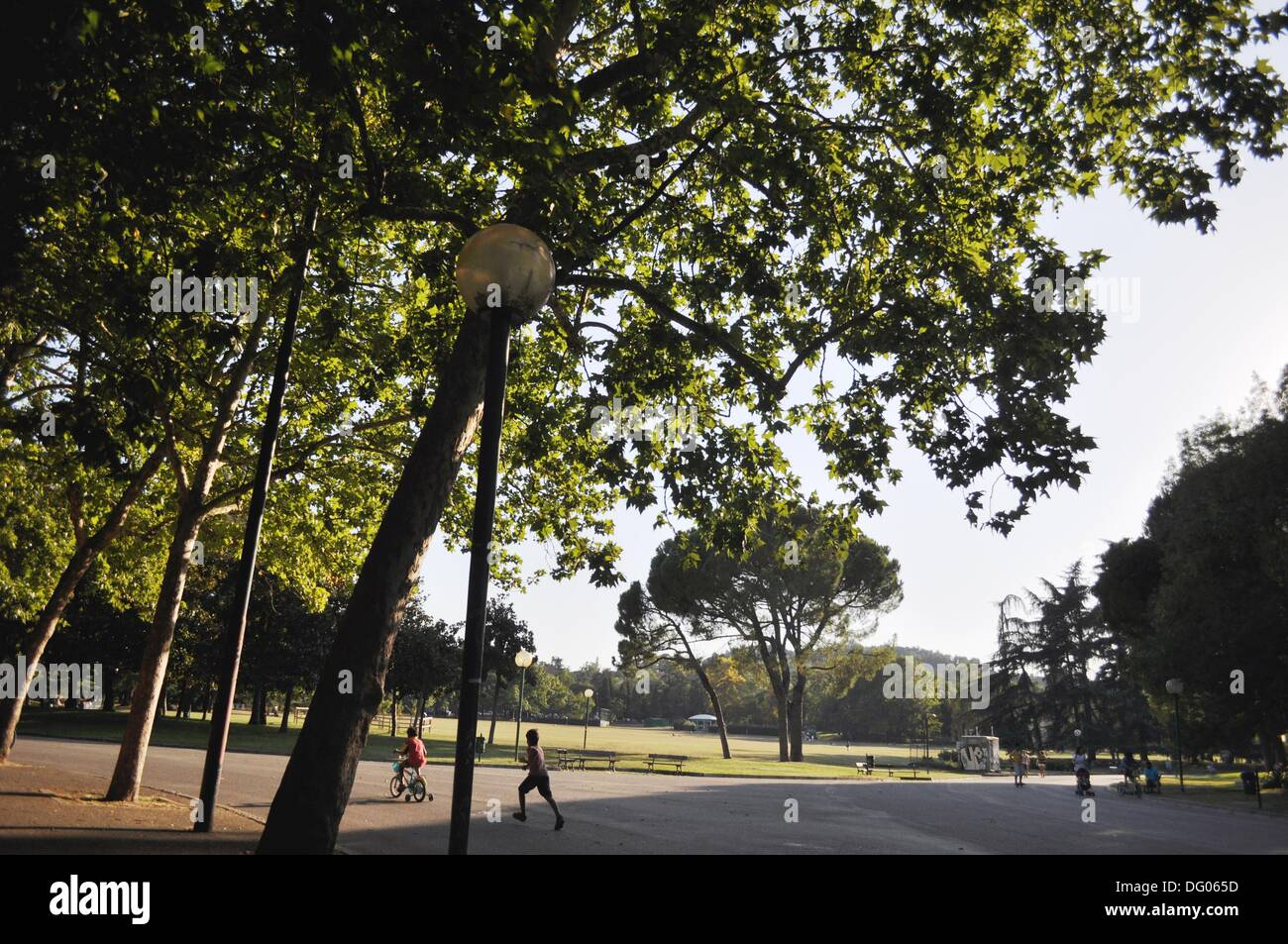 Bologna italy : the giardini margherita stock photo: 61470457 alamy