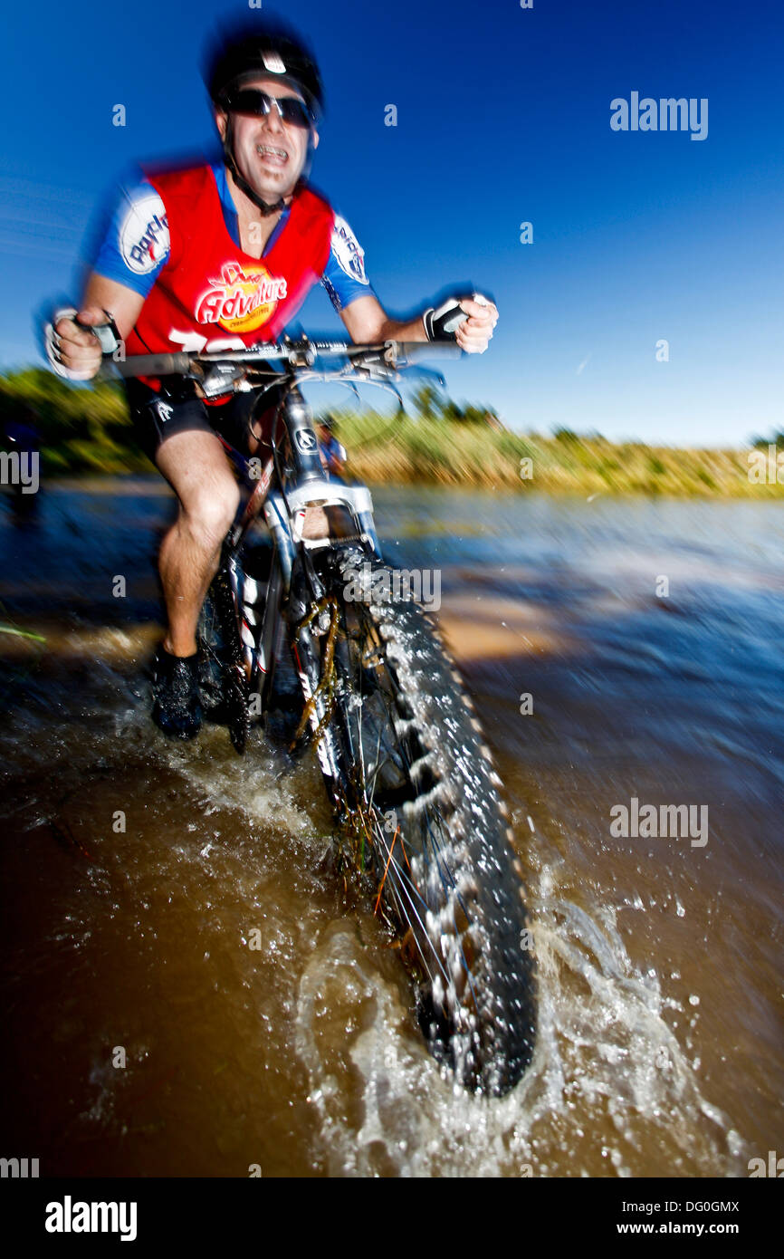 Quantum Adventure Racing Sprint Series at Oak Lane Cottages, Grabouw, Western Cape, RSA - Stock Image