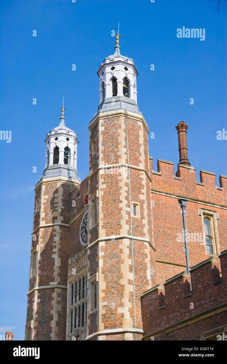 Eton College. Quadrangle. Eton. Berkshire. England. UK. - Stock Image