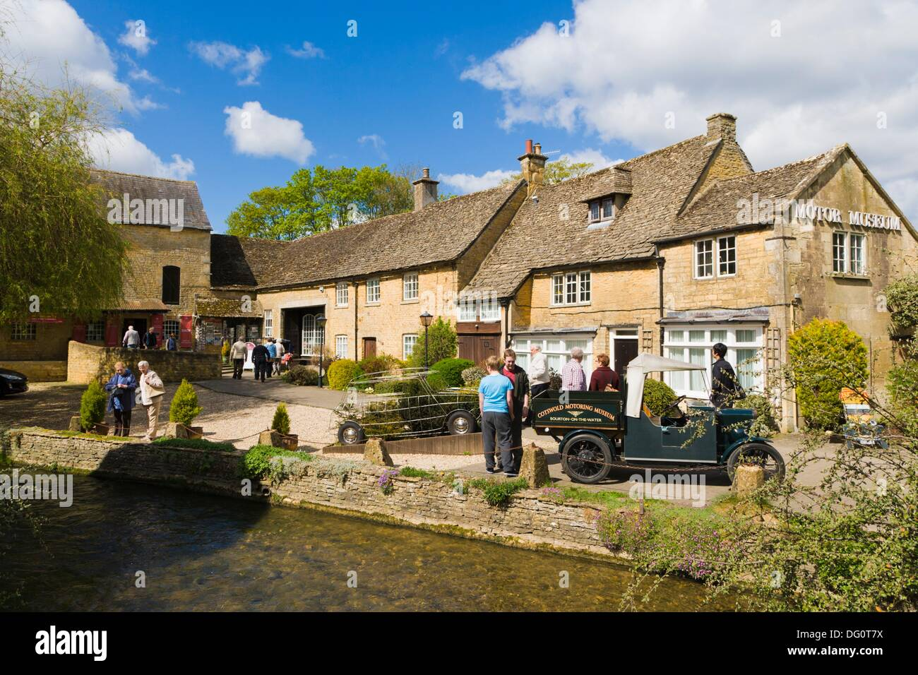 The Cotswold Motoring Museum, home of Brum, Bourton on the Water, Venice of the Cotswolds, Gloucestershire, England, UK - Stock Image