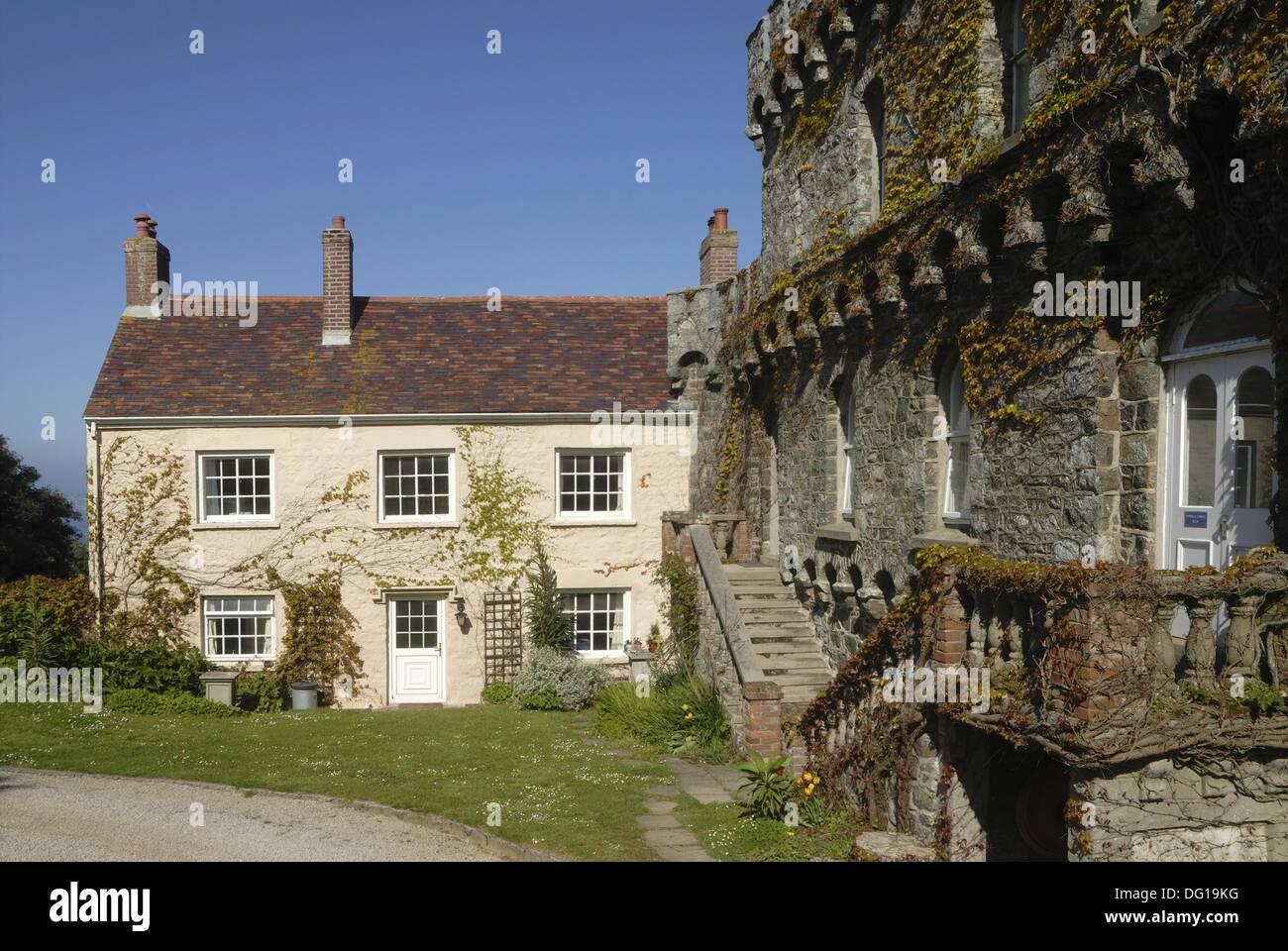 Bailiff´s House, Herm Island, Bailiwick Of Guernsey, British Crown  Dependency, English Channel, Atlantic Ocean, Europe