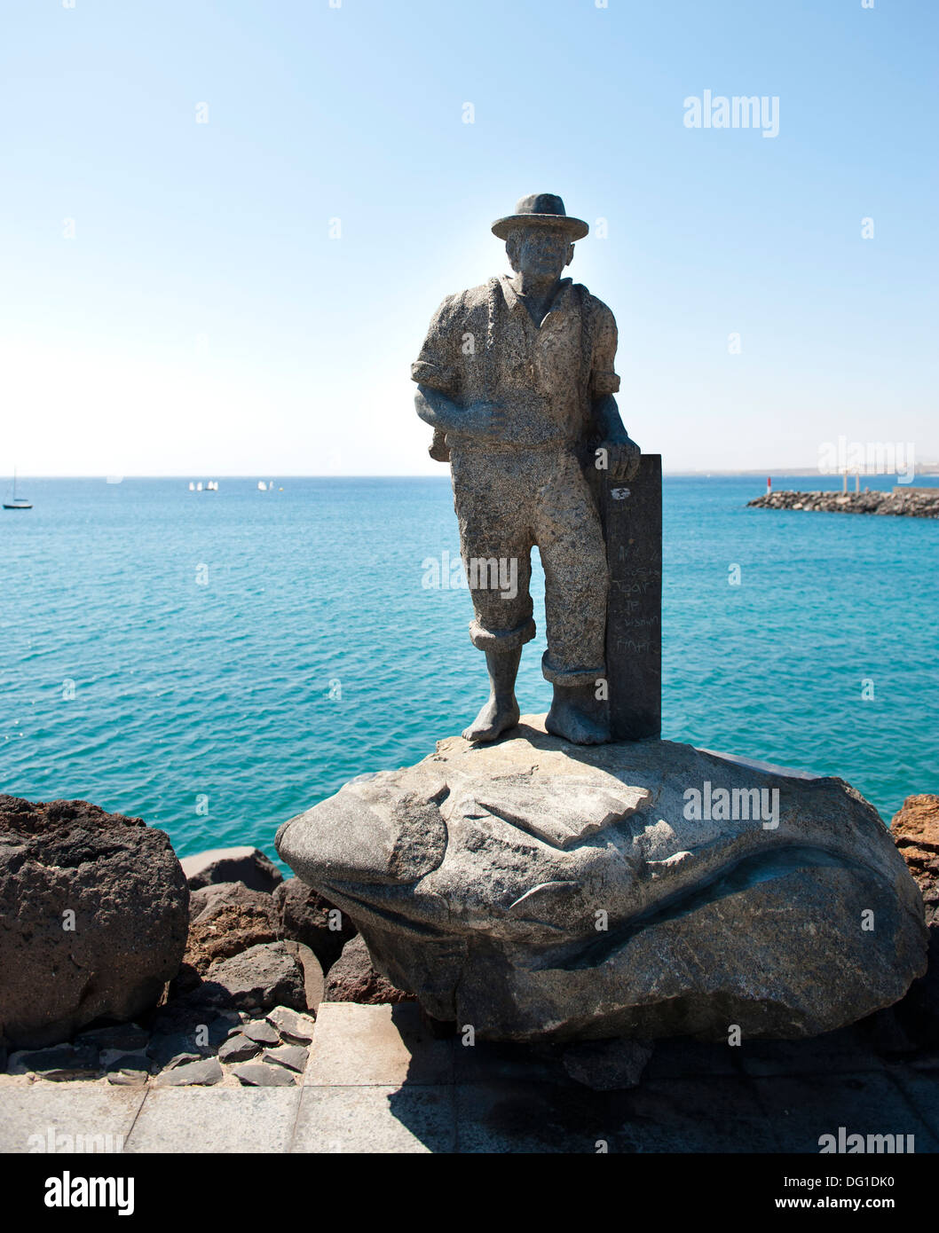 Statue Of Fisherman Stock Photos Statue Of Fisherman Stock Images
