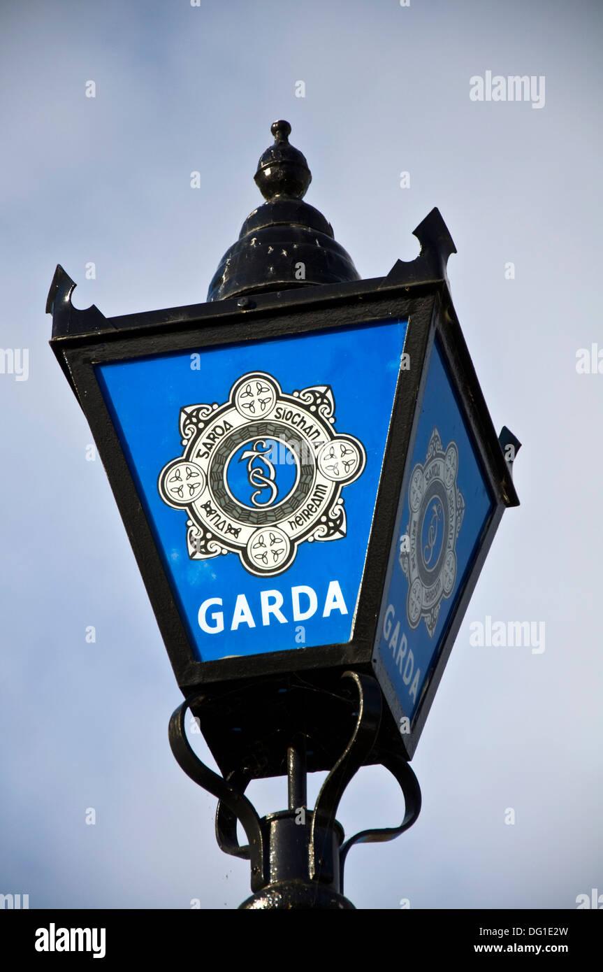 State Police Force of Ireland Irish Garda Síochána - Stock Image