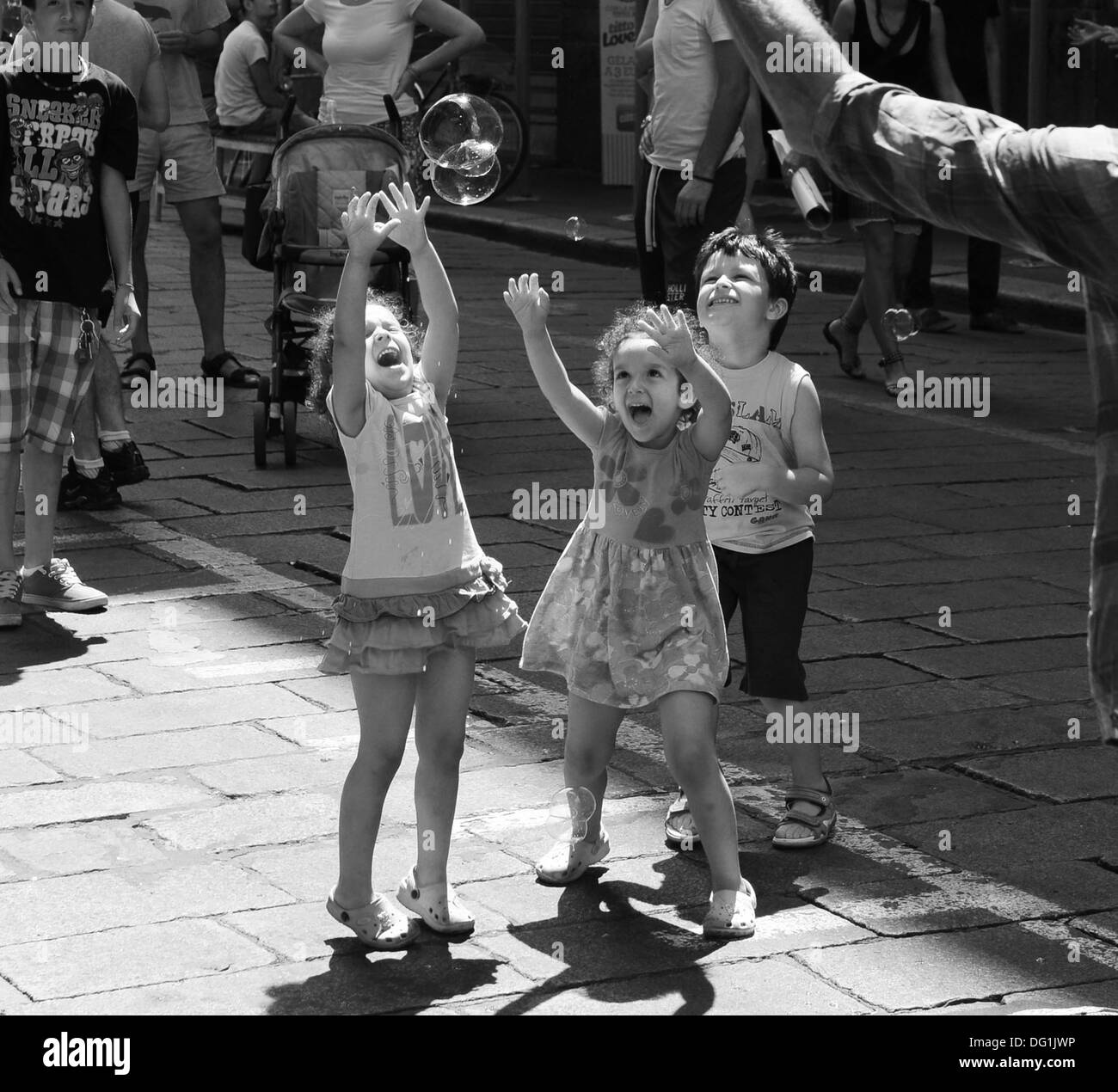Black And White Children Playing Stock Photos Amp Black And