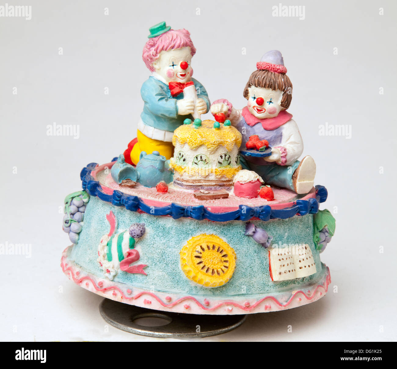 Tremendous Circus Birthday Cake Stock Photos Circus Birthday Cake Stock Funny Birthday Cards Online Elaedamsfinfo