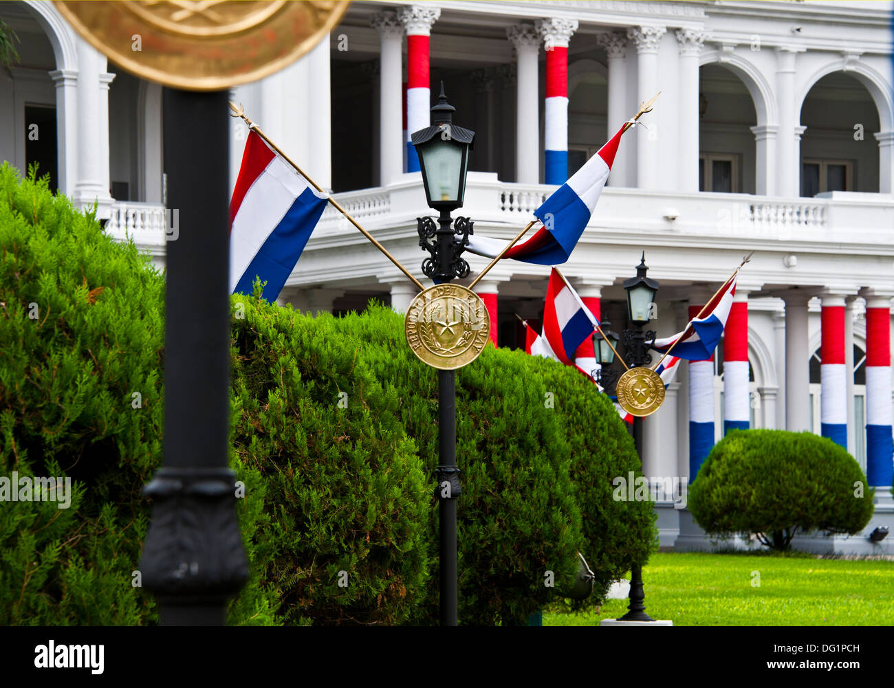 Palace of the President, Asuncion, Paraguay - Stock Image