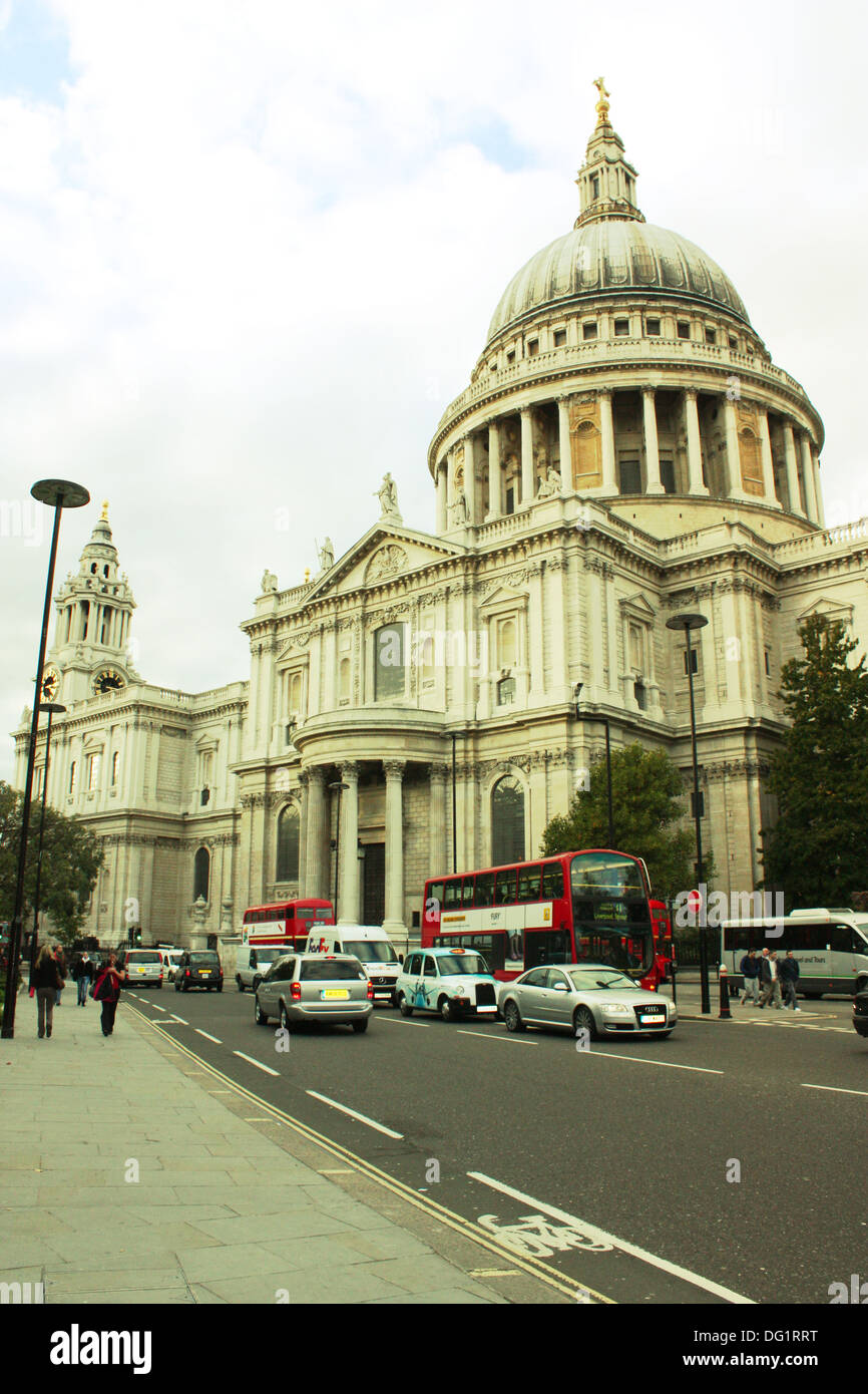Saint Paul's cathedral in London, United Kingdom Stock Photo