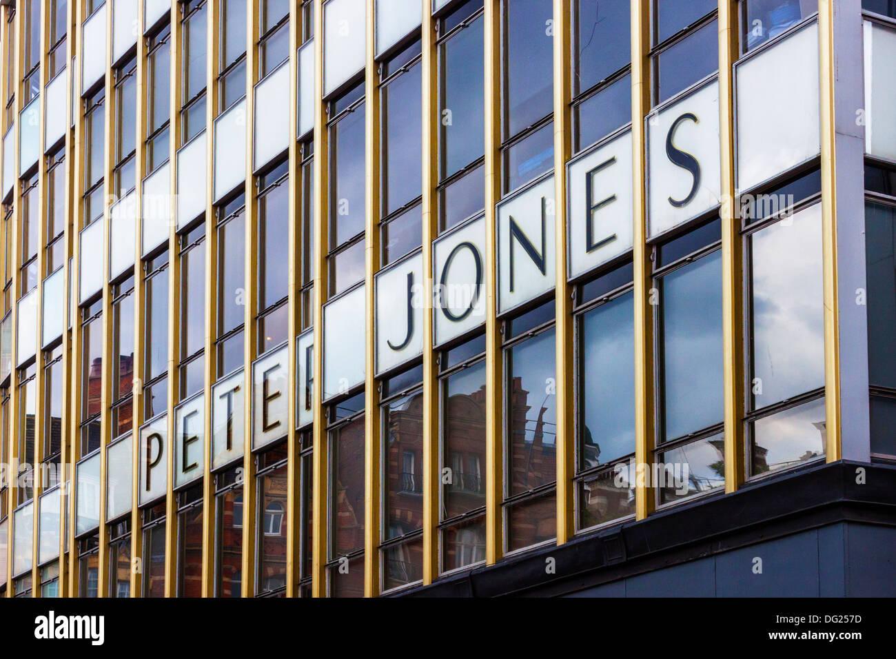Peter Jones Department Store, exterior - Stock Image