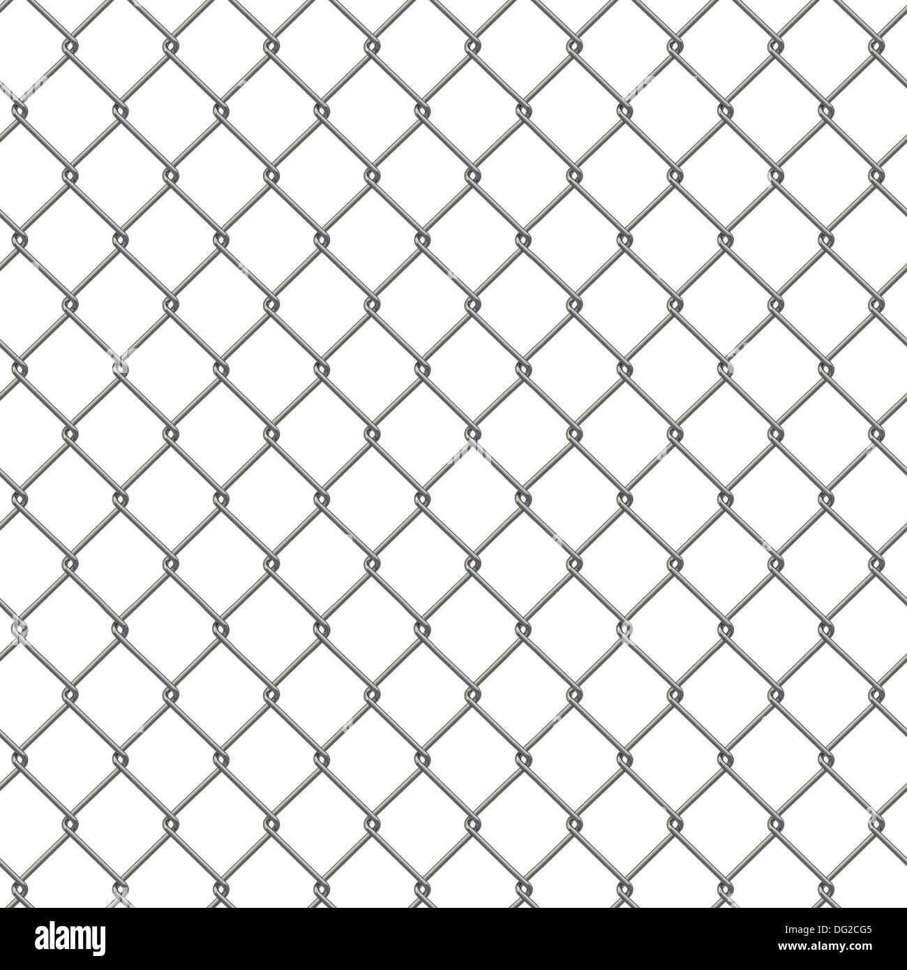 Tiling texture of barbed wire fence. 3d Stock Photo: 61519365 - Alamy
