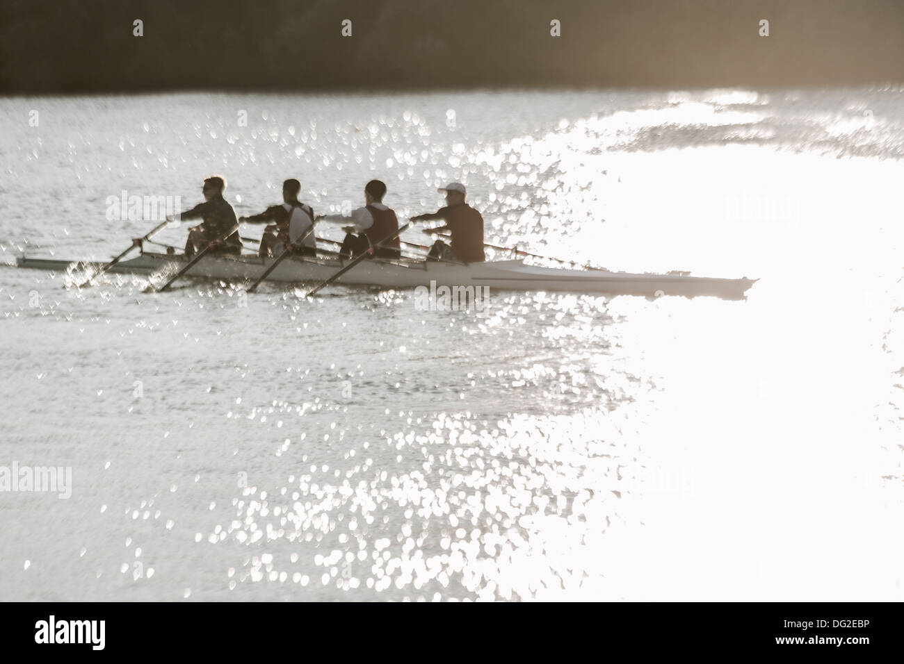 Canada,Ontario,Saint Catharines, The Henley Royal Regatta, rowers - Stock Image
