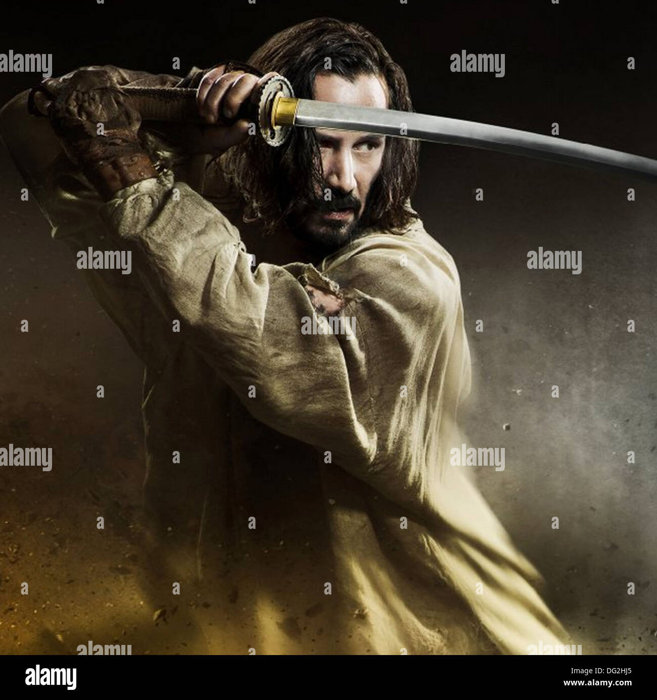 47 RONIN   2013 Universal Pictures film with Keanu  Reeves - Stock Image