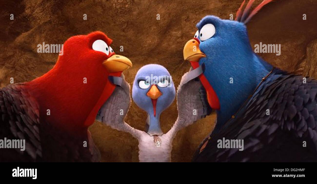 FREE BIRDS  2013 Relativity Media animation - Stock Image