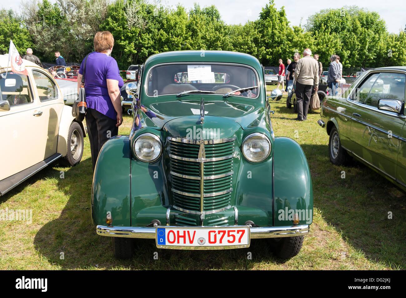 Soviet post-war cars Moskvitch 401 (based on the German Opel Kadett ...