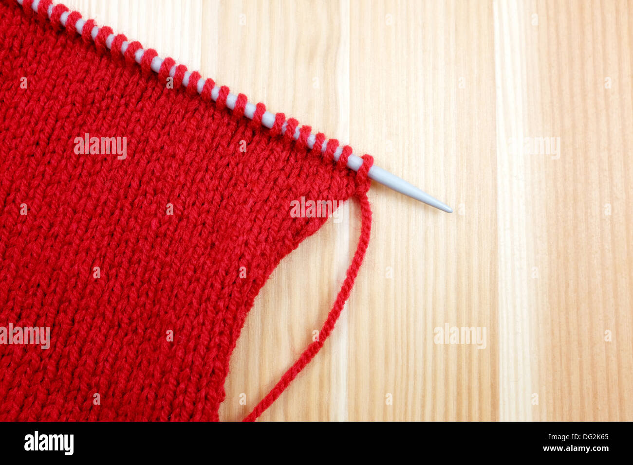 Stockinette Stitch High Resolution Stock Photography and